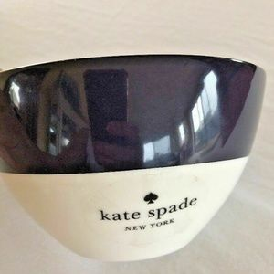 Kate Spade Bowl Lenox Rutherford Circle Navy